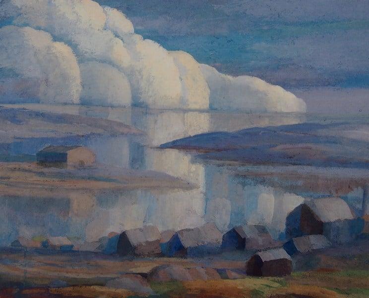 Борис Забирохин. Облака над морем