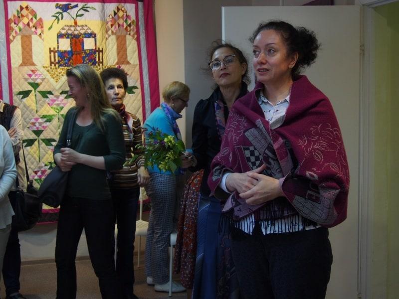 выставку открывает директор Галереи промышленной истории Виктория Никитина