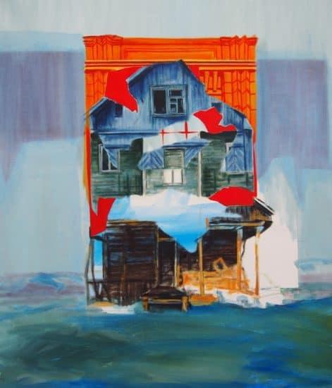 В медиа-центре «Выход» открылась выставка «Reflection» голландской художницы Розмарайн тен Хоопен