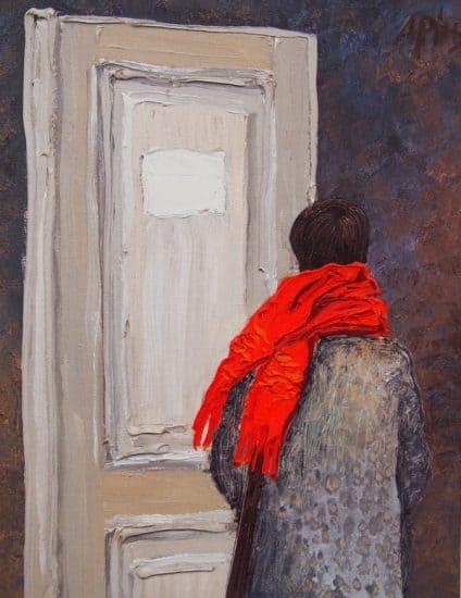 Рубен Монахов. Портрет жены