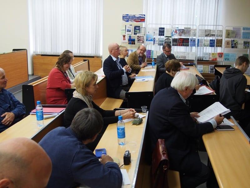 Российско-финляндский семинар историков. Фото Ирины Ларионовой