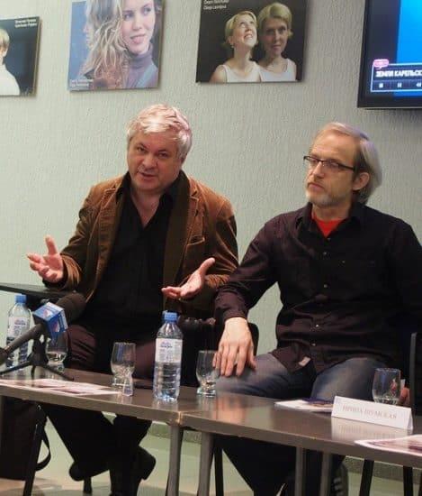 Андрей Дежонов (слева) и Сергей Пронин