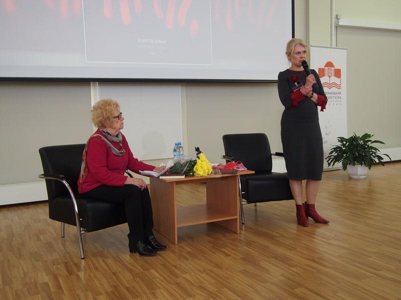 Марья-Леена Миккола и Яна Жемойтелите
