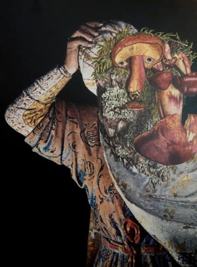 Бородач с грибной головой. В Национальной библиотеке Карелии открыта выставка коллажей знаменитого француза Жака Превера