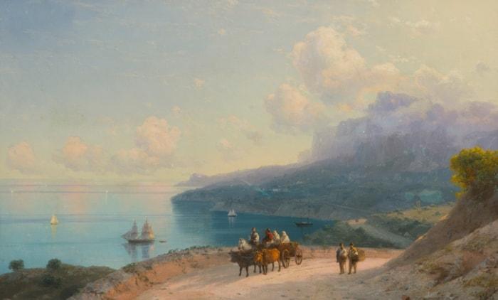 Иван Айвазовский в коллекции Музея изобразительных искусств Карелии
