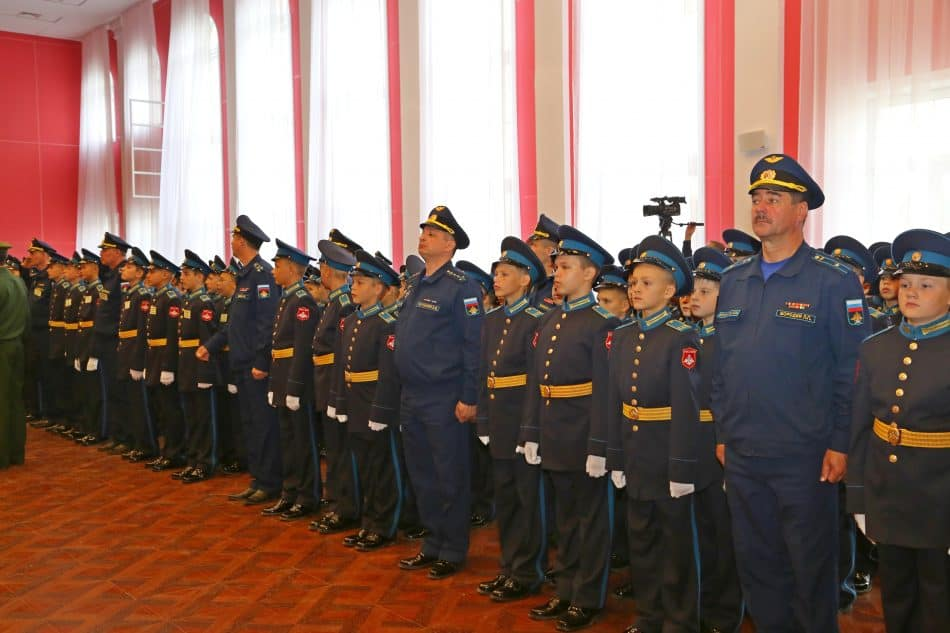 Петрозаводское президентское кадетское училище. Фото Владимира Ларионова