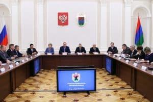 Артур Парфенчиков оглашает новую структуру органов исполнительной власти Карелии