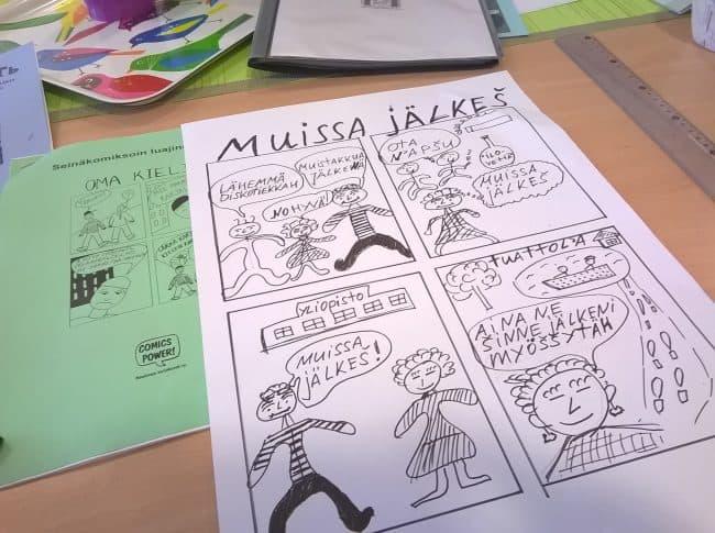 Комиксы на карельском языке