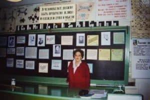 Нина Александровна в кабинете химии школы №39
