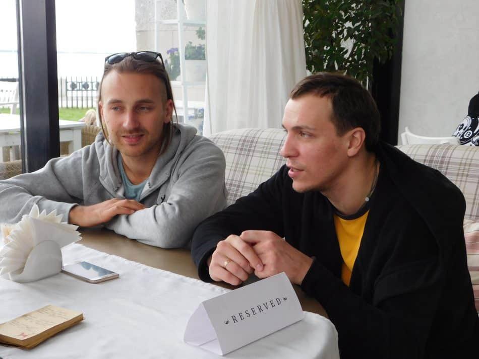 Якоп Янссённ и Игорь Шайтанов. Фото: Анастасия Гастин
