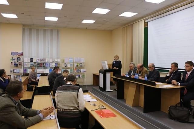 Открытие семинара. Фото пресс-службы ПетрГУ