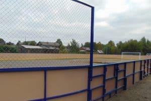 В Суккозере благодаря инициативе учителей и местных жителей появилась спортивная площадка