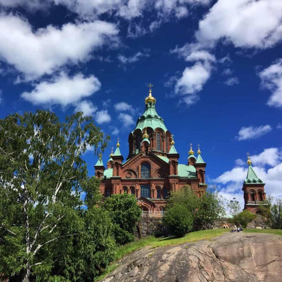Успенский собор в Хельсинки. Фото Ларисы Хенинен