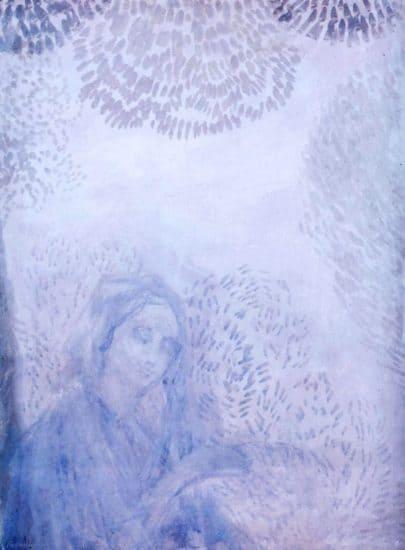 Пётр Уткин. Утренняя молитва. 1908