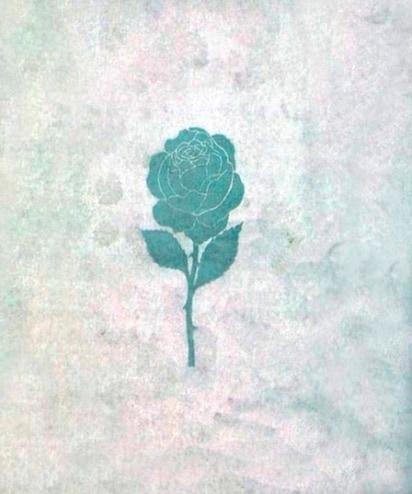 Николай Сапунов. Обложка каталога выставки «Голубая Роза». 1907