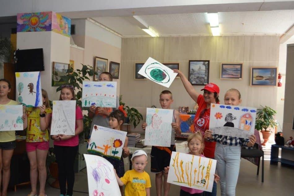 Детская литературно-художественная студия «Биномка» в Эссойльской библиотеке