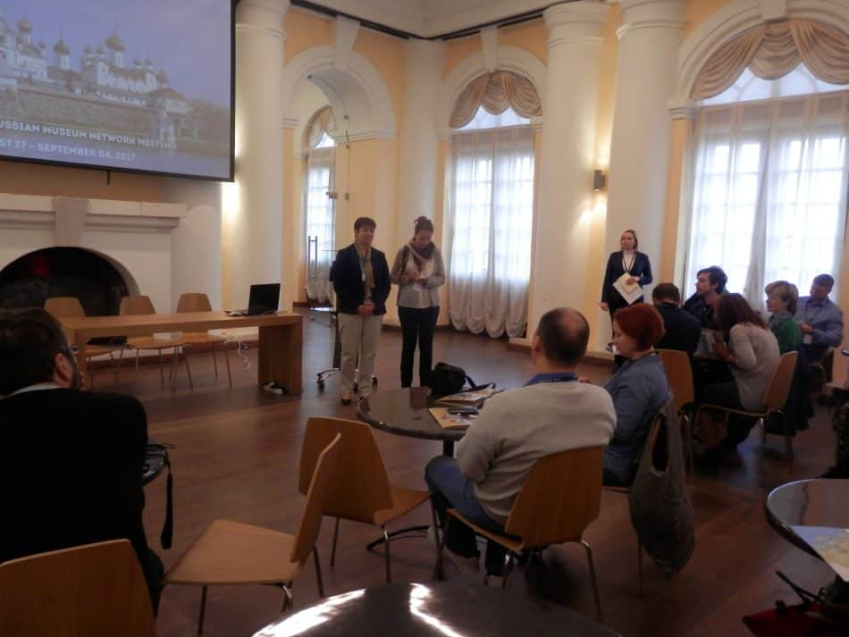 Открытие в Архангельском краеведческом музее