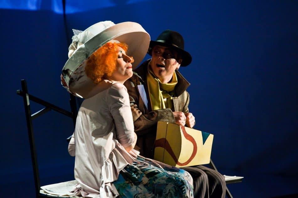 Ирина Старикович и Георгий Николаев в спектакле «Другой человек»