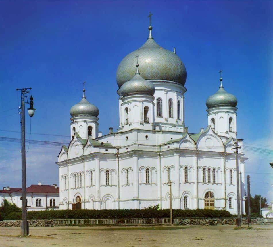 Таким собор видел Михаил Калитович. С фотографии С. Прокудина-Горского. 1916
