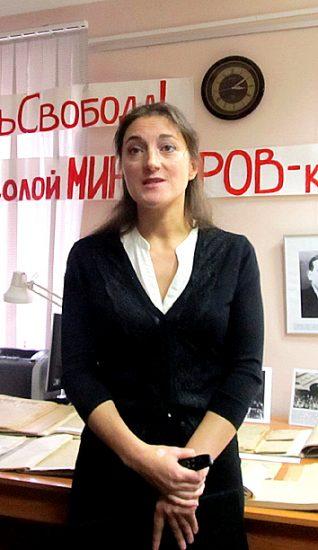 Куратор Мария Змеевская представляет экспозицию