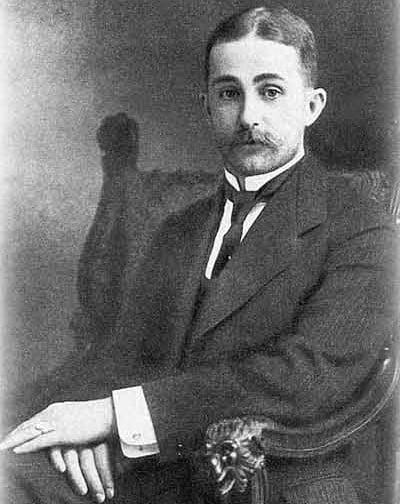 Агафон Фаберже перед Первой мировой войной. Фото из Wikipedia