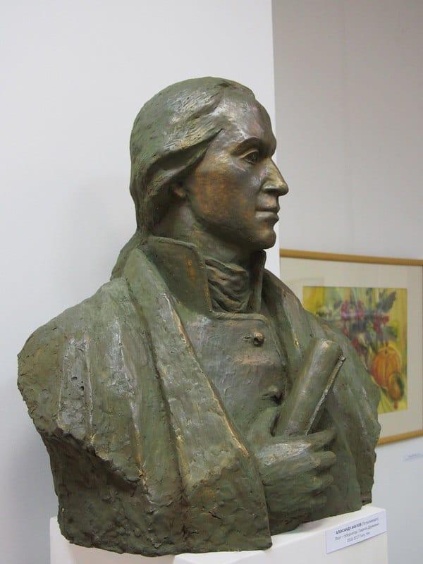 Александр Акулов. Портрет губернатора Гавриилы Державина.