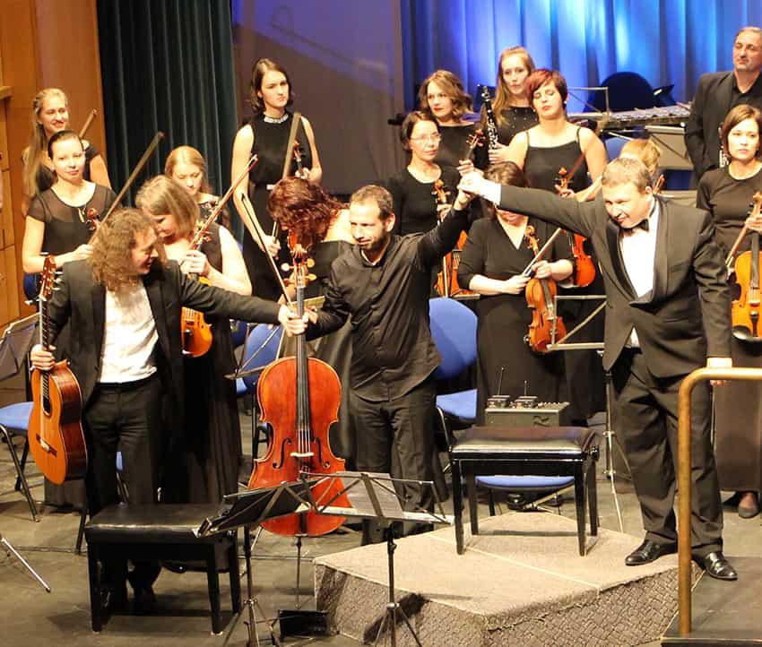 Слева направо: Дмитрий Илларионов, Борис Андрианов, Анатолий Рыбалко