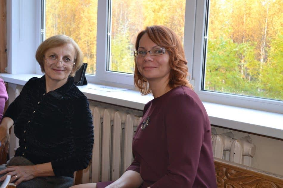 Людмила Фрадкова (слева) и Светлана Пахомова