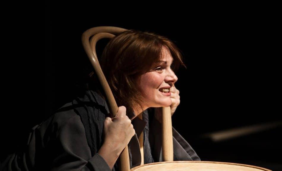 Наталья Мирошник в спектакле «Любовные письма»