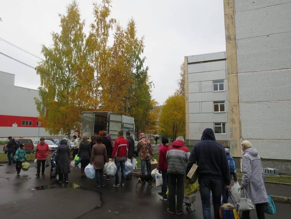 """Акция """"Сбормобиль"""". Октябрь 2017 года"""