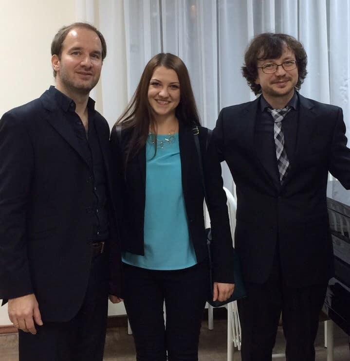 Автору публикации Лидия Гелихова с Михаилом Мордвиновым (справа) и Тобиасом Берндтом. Фото из личного архива