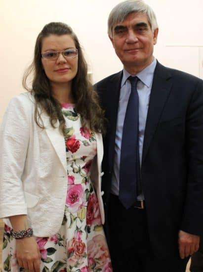 Анастасия Сало и Рашид Рашид Калимуллин