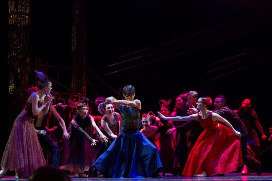 """Сцена из балета """"Ромео и Джульетта"""""""