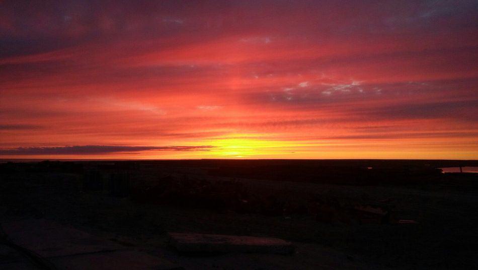 Полуостров Ямал. Закат в ЯраЯха