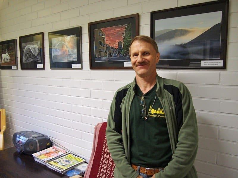 Небольшая выставка фотографий природы замечательного мастера и волонтера в доме для алкоголиков Рейно Ахолайнен