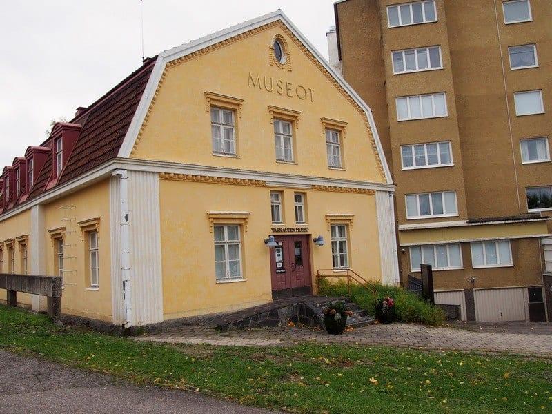 Музей Варкауса - бывший отель завода