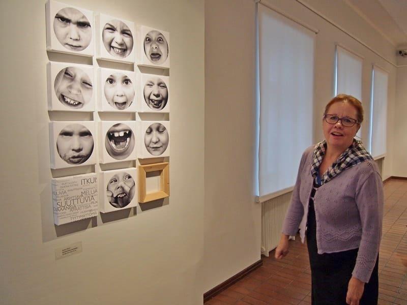 Анне Пурунен, экс-секретарь по культуре, теперь работает в музее
