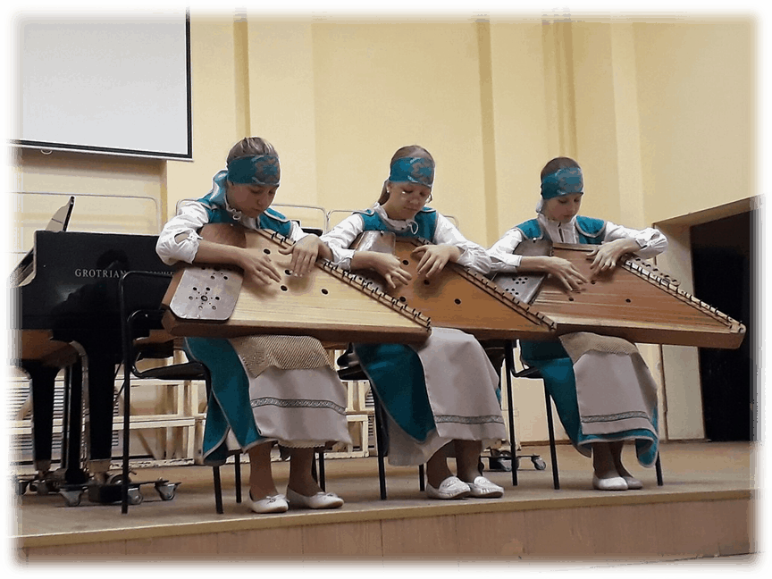 "Ансамбль кантеле исполняет ""Танец бубенцов"" А. Сало"