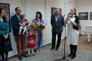 В Городском выставочном зале Петрозаводска открылась выставка «В поисках Сампо» творческой семейной династии Пермяковых - Маргариты, Юрия и Егора