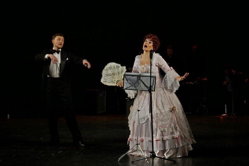Александр Картушин, актер театра Ad Liberum, и солистка Музыкального театра Евгения Гудкова