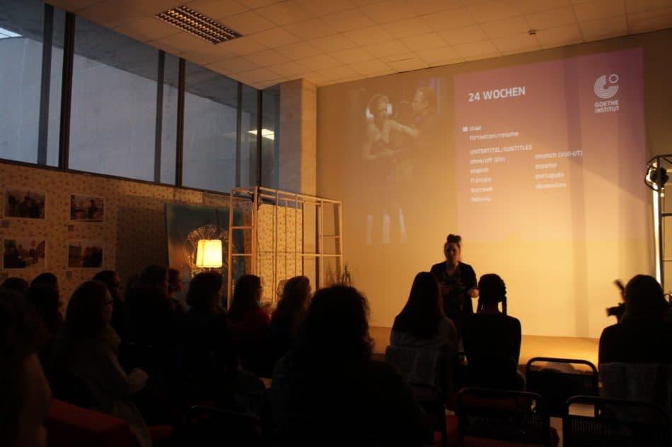 Обсуждение фильма в арт-пространстве Agriculture club. Фото Юлии Тапио