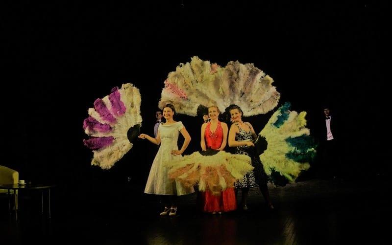 Прекрасные актрисы Ad Liberum в этот вечер блистали на сцене Национального театра