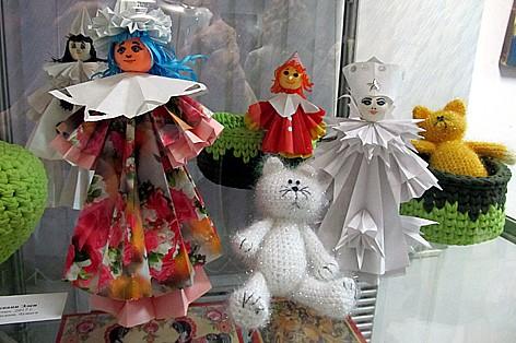 Элен Шуквани. Куклы. Техника оригами. Бумага