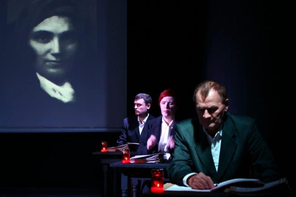 На сцене Дома Актёра прошла премьера спектакля «Бессмертный барак»