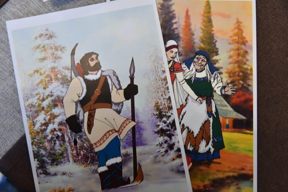 Основой при создании внешнего облика персонажей станут герои иллюстраций Николая Кочергина