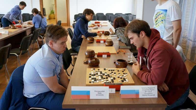 На Международном студенческом фестиваль по игре в го. Фото Ирины Ларионовой