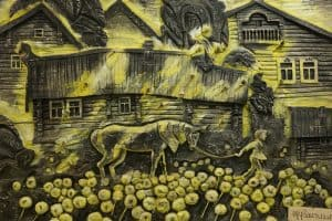 Резьба по дереву Ивана Марценюка