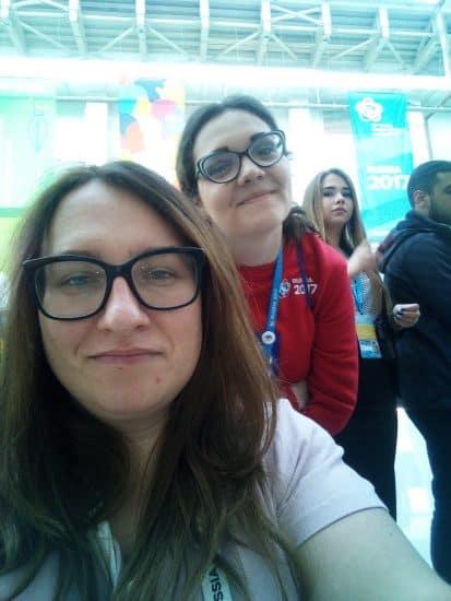 Катаржина Брода и Анастасия Быкова