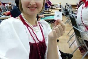 Марина Перттунен на конкурсе