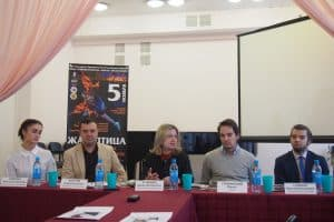 На пресс-конференции в Карельской филармонии. Фото: Яна Козьмина